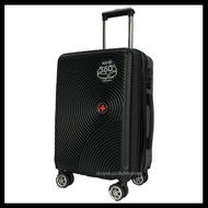กระเป๋าเดินทาง (ขยายได้) (travel luggage) (ซิปกันขโมย) กระเป๋าเดินทางล้อลาก กระเป๋าเดินทาง ABS กระเป๋าเดินทาง PC ขนาด 20 24 29 นิ้ว