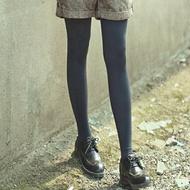 寶島夯貨~啞光女春秋中厚款連褲襪肉色灰色80d薄款初秋季絲襪防勾絲打底襪