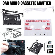 Cartridge Adapter Car Cassette Tape Cassette Converter 3.5mm Plug for iPhone MP3 AUX CD Player
