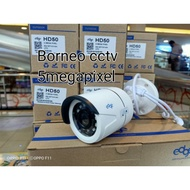 Outdoor Cctv Camera 5mp Edge Ultra Hd 2560p / 5mp Cctv Camera
