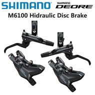 Shimano Deore M6100 Hydraulic Disc Brake Set Front&Rear MTB