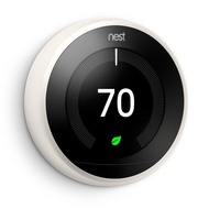 Google Nest Learning Thermostat - [3rd Generation, White]
