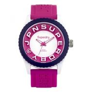 Superdry Tokyo SYL146PW Analog Quartz Purple Silicone Womens Watch
