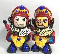 ☆天才老爸☆→川劇變臉玩偶→變臉娃娃 電動機器人 川劇變臉 中國娃娃 玩具 玩偶 公仔 聲光玩具 創意玩具 擺飾 抖音