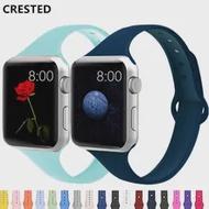 สำหรับ Apple Watch Band 44มม.40มม.42มม.38มม.ซิลิโคน Iwatch Band สายนาฬิกา Apple Watch Series 5 4 3 SE 6
