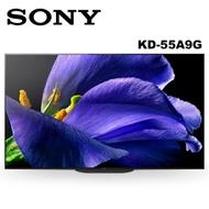 SONY索尼 55吋 4K HDR OLED智慧聯網液晶電視 KD-55A9G 公司貨