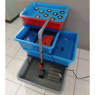 [PRE ORDER] Aquaponic, Akuaponik, Set menternak lobster/ikan air tawar & Hydroponic
