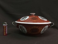 老大同 早期大同瓷器 福壽砂鍋