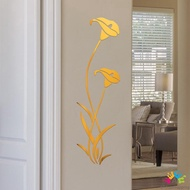 DIY Mirror Wall Sticker Removable Mural Wallpaper