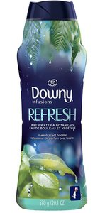 DOWNY - Downy Infusions in-Wash Scent Booster Beads, Refresh, Birch Water & Botanicals, 平行進口