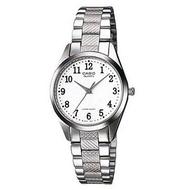【CASIO】高雅知性淑女腕錶-數字白面(LTP-1274D-7B)正版宏崑公司貨