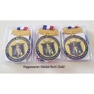 Kagawaran Medal 6cm Gold Silver Bronze