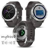 「整合悠遊卡小額支付及信用卡支付」Garmin Vivolife 悠遊智慧腕錶 智慧型手錶 全天候心率與壓力監測,隨時掌握健康數據-石墨灰