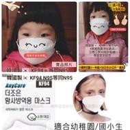 有現貨在台灣🇹🇼韓國🇰🇷兒童款KF94醫用級口罩防毒94%=韓國醫療機構最推薦N95級👍對抗武漢肺炎口罩