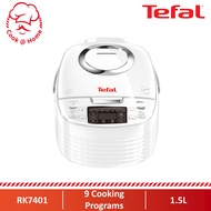 Tefal Daily Rice Cooker Fuzzy Logic 1.5L RK7401