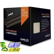 [美國直購] AMD Octa-core 主機板 FX-8370 4GHz Desktop Processor with Wraith Cooler, Black Edition FD8370FRHKHBX