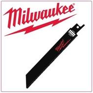 "【Milwaukee 美沃奇】6""軍刀鋸片組/碳化合金鋸片/3入(48-00-1420)"