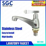 SGC Stainless Steel Lavatory Faucet SUS304 SGC-7304 •BUILDMATE•