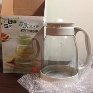 妙管家 歡飲冷水壺 HKP-317 容量2公升 玻璃材質 把手穩固