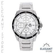 Casio Edifice EFR-526D-7A Date Display Silver Watch / EFR-526D-7AV