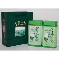 【芳真茶業】年節禮盒~清香~拉拉山高山茶手採烏龍茶~300gx2罐