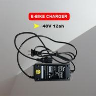 Ebike Charger 48V 12AH for Battery 48volts 1.8ah OutPut Ebike battery charger 48v 12ah Applicable for Romai Nwow Jonson Hamsun Kenwei EcoDrive Green Ebike Igo Socoo Dong fang Yadea TailG Aima Feima Gogo Ebike Super Ebike Etc..