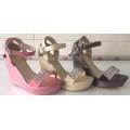 รองเท้าแฟชั่นคัชชูส้นสูงขายส่ง/คุ๋ละ 380 บาท ( GS144)