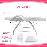 """71"""" Portable Tattoo Parlor Spa Salon Facial Bed Beauty Massage Table Chair White Thick cushioning for maximum comfort Heavy Duty Steel Frame"""