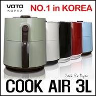 VOTO KOREA COOK AIR CA-3L / 3L Air Fryer Oven Airfryer