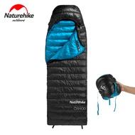 Naturehike CW400ฤดูหนาวWarmถุงนอนชนิดซองจดหมายสีขาวGoose Down Sleeping Bag