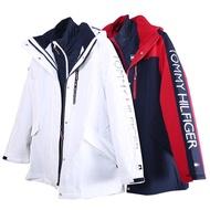 [Tommy Hilfiger]女款三合一衝鋒外套 可分拆穿 風衣外套