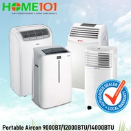 Multi Brand Portable Aircon available from 9000BTU to 14000BTU