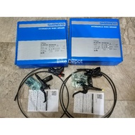 SHIMANO DEORE BL BR M6100 Hydraulic Brake Set (Front & Rear)