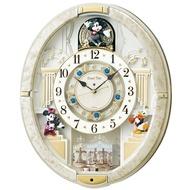 Seiko 迪士尼 音樂 掛鐘 壁鐘 時鐘 光感應 機械鐘 米奇 米妮 唐老鴨 Disney 精工 日貨 O10007