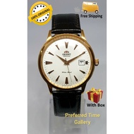 100% ORIGINAL ORIENT CER24002W Rose Gold Case,White Dial,Leather Starp Automatic Men Watch