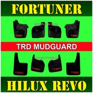 Mitsubishi accessories ✦TRD Mudguard for Fortuner 2016 - 2021 and Hilux Revo ( Toyota 2017 2018 2019