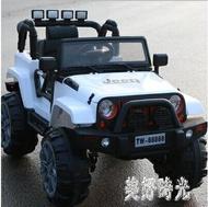兒童電動車四驅四輪帶遙控寶寶玩具車可坐雙人小孩搖擺越野汽車CC2498