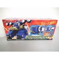 日版 BANDAI 特命戰隊 GOBUSTERS DX 特命合體 藍猩GT-02 特命 變形 貨櫃