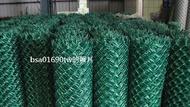 PVC塑膠包覆菱型網 (一般鍍鋅、鐵絲網、鐵網、金屬網、鍍鋅鐵網、圍籬用)自取