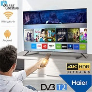 【FREE SHIPPING】 Haier 65 inch 4K UHD Smart Android TV LE65K6600UG