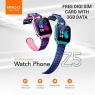 imoo watch Z5 100% original set Free Digi Sim card with 3GB Data