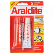 EXPOXY ARALDITE GLUE 5 MINUTES 15ML RED ARALDITE WHITE GLUE