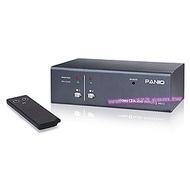 【民權橋電子】PANIO VAS12 二進一出VGA視訊切換器(附音源)可搖控