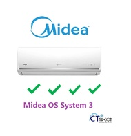Midea OS SERIES System 3 Air Con  **4 TICKS** (SMKS-09 / 3 +MS40D-21)