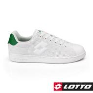 【LOTTO】1973經典室內網球鞋 男 (白/綠-LT8AMC6665)