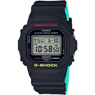 Casio G-Shock Breezy Rasta Color Watch DW-5600CMB-1 DW5600CMB DW5600CMB-1