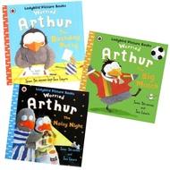 Ladybird Picture Books : Worried Arthur 3 Books Set นิทานเลดี้เบิร์ด อาร์เธอร์ เพนกวินจอมกังวล 3 เล่ม