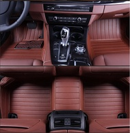 stripe car floor mat for BMW 630i 740Li M5 M6 M3 X6 X5 X3 X1 Porsche Panamera Cayenne