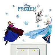 BPID017 冰雪奇緣系列迷你開關壁貼-冰雪女王