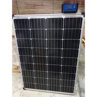 送控制器 現貨 100w 太陽能 單晶 多晶 太陽能板 省電 教學
